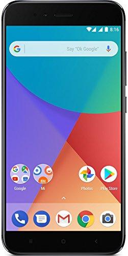 "Xiaomi Mi A1 - Smartphone libre de 5.5"" (4G, WiFi, Bluetooth, Snapdragon 625 Octa Core, 32 GB, 4 GB de RAM, Android One), Negro"