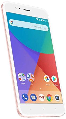 """Xiaomi Mi A1 Smertphone de 5.5""""4GB/64GB Doble Sim, Con Google Play [Version Europea] Oro Rosa"""